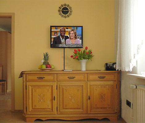 bilder der ferienwohnung litzenburger st ingbert. Black Bedroom Furniture Sets. Home Design Ideas